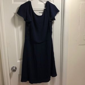 Sz 16 navy dress